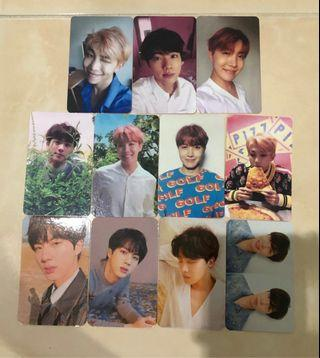 [CLEARANCE SALE] BTS LOVE YOURSELF 'HER' & 'TEAR' DUPLICATED/REPLICA/UNOFFICIAL PHOTOCARD