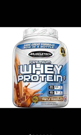 🚚 Nitrotech Whey Gold 5lbs with tumbler
