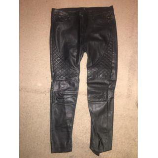pants Leather look