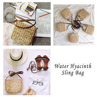 🚚 Water Hyacinth Sling Bag