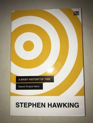 Novel SEJARAH SINGKAT WAKTU By Stephen Hawking