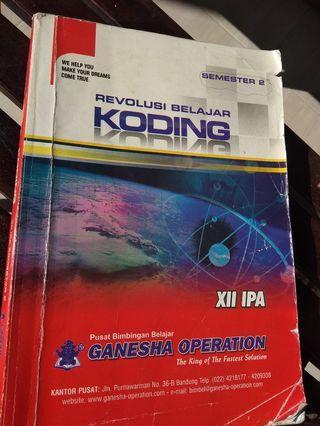 Buku Koding Ganesha Operation Kelas 12 IPA SMA
