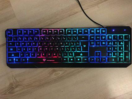 🚚 Gaming Keyboard - Motospeed K70 keyboard with backlights