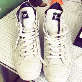 Converse All star 帆布鞋 稀有 限量 二手 出清 8成新 高筒 男鞋 型男 潮鞋