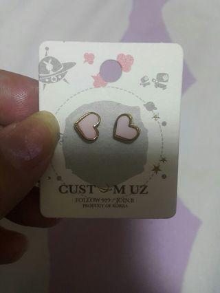 購物滿$ 100免費送韓國耳環