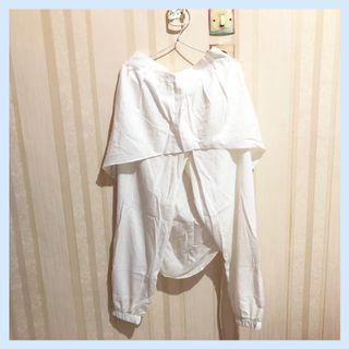 Celana Rok Putih