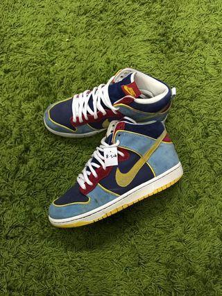 Nike sb dunk hi pacman