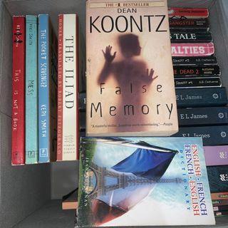 Keri Smith's Books, The Illiad, False Memory