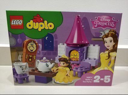 (Mark down) Lego Duplo princess Belle's tea party