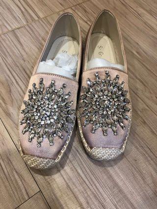 🚚 水鑽包鞋