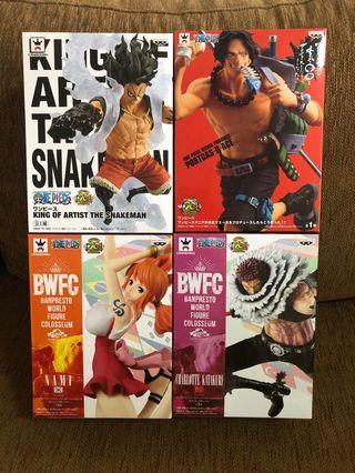 One Pieces Bundle Sales - Katakuri, Snakeman, Aces, Nami