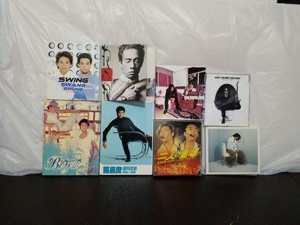 本地男歌手CD's  50@