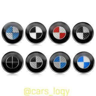 🚚 BMW Logo (74mm, 82mm and 45mm)