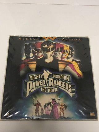 Mighty Morphin Power Rangers The Movie Laser Disc [Widescreen Edittion, Vinyl]