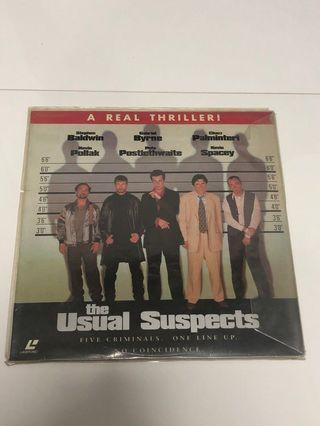 The Usual Suspects Laser Disc [Vinyl]