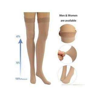 BNIP over knee tigh high natural nude skin colour socks stocking panty hose