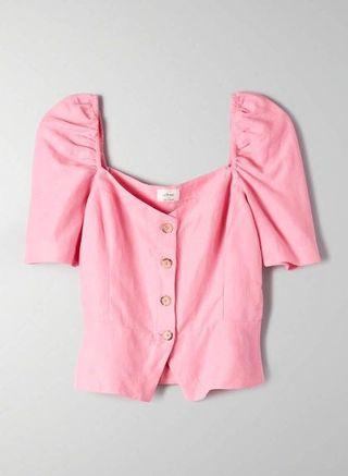 Aritzia Wilfred Janine blouse