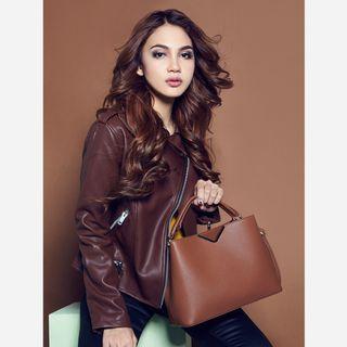 Christy Ng Janet Ginger Bread Handbag