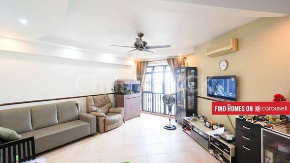 Admiralty MRT Top Floor 4 Room flat unit for Sale