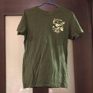 迷彩口袋短袖T恤