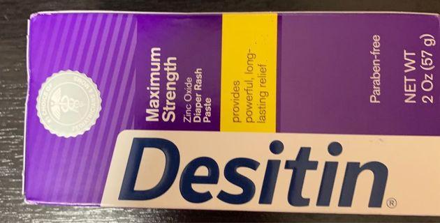 BN Desitin Maximum Strength Diaper Rash Cream