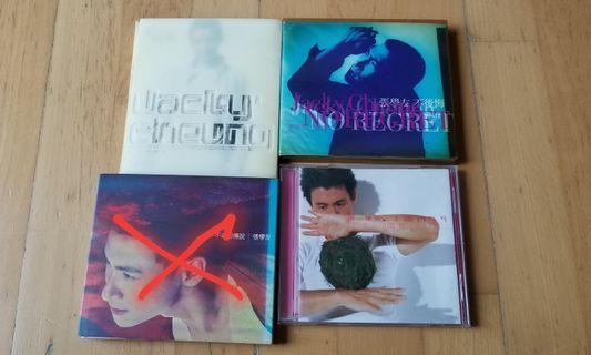 張學友CD's. 120@三張