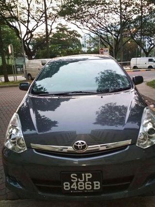 (FULLY BOOKED) TOYOTA WISH 1.8 A