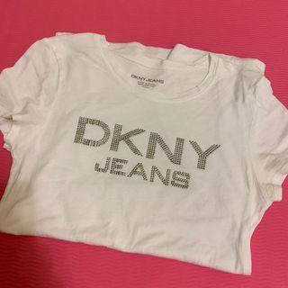 🚚 DKNY t shirt  t恤 白色 棉