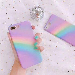 🚚 Pastel Rainbow iPhone Case