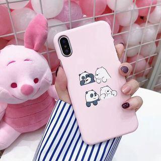 🚚 We Bare Bears iPhone Case