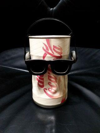 絕版 聲控 跳舞 可口可樂 罐 太陽眼鏡 耳機 耳筒 Vintage Break Dancing coca cola can sunglasses headphone