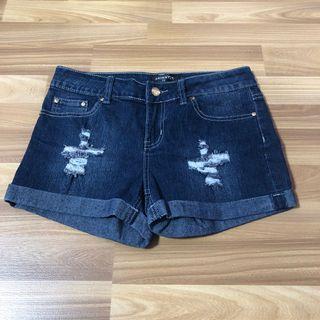 🚚 Ripped Denim Shorts