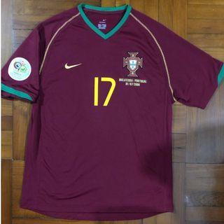 葡萄牙 #17 C朗 2006世界盃 對英格蘭對賽 full set Size M