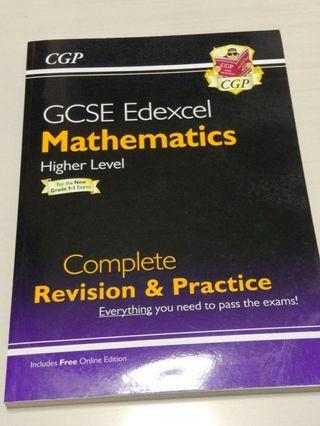 GCSE Edexcel Mathematics Higher Level
