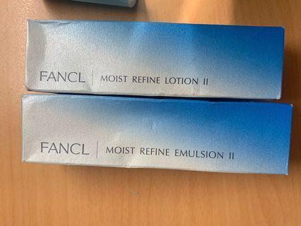 🚚 Fancl 水盈肌底液&水盈乳液