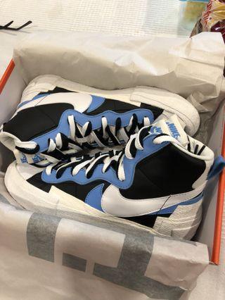 Nike sacai blazer blue
