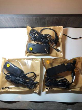 🚚 Lenovo Chargers - Original - Slim Rectangle type