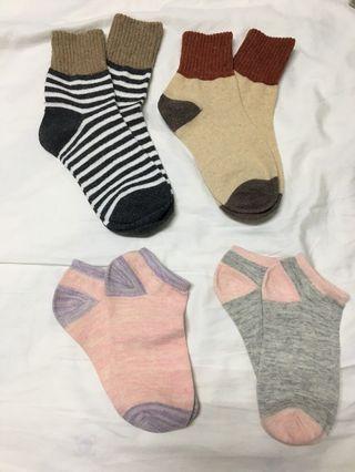 全新中長襪+短襪(全買)