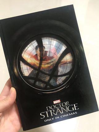 Dr Strange notebook