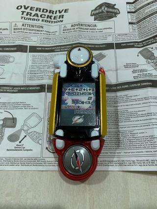 Power Rangers Turbo by  Morpher overdrive by Bandai