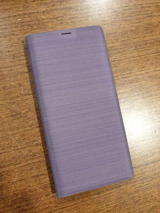 Purple LED View Cover for Samsung Note 9