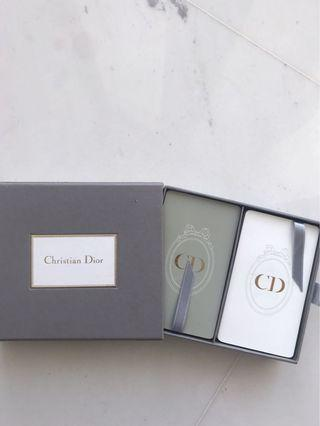 ** Brand New ** DIOR playing cards.