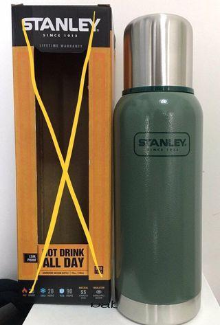 美國經典Stanley 冒險家系列不鏽鋼保溫壺 adventure vaccum bottle (冇盒)