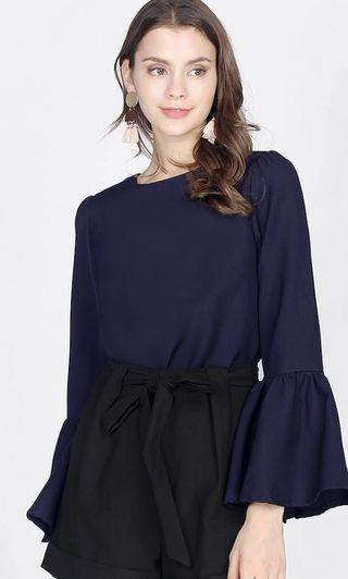 Fayth emdine Bell sleeve top (XS)