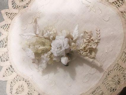 日本m.soeur花のブローチ(胸針)