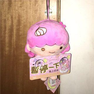✨雙子星娃娃吊飾吸盤式汽車適用(暫停車的電話留言)吊飾