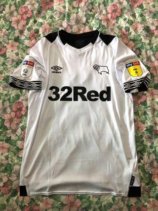 🚚 OFFICIAL Derby County UMBRO SS Shirt