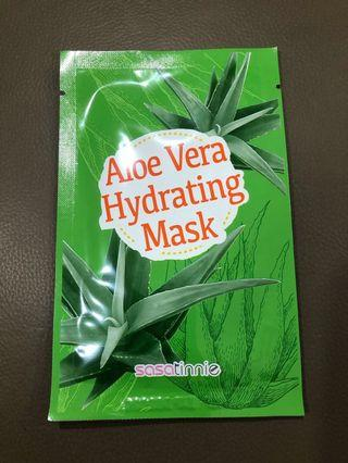 SaSa sasatinnie Aloe Vera Hydrating Mask 22g box of 10