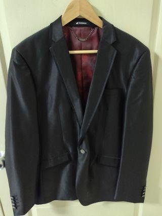 Black shimmer suit