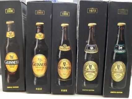 GUINNESS limited edition mini bottles 250years